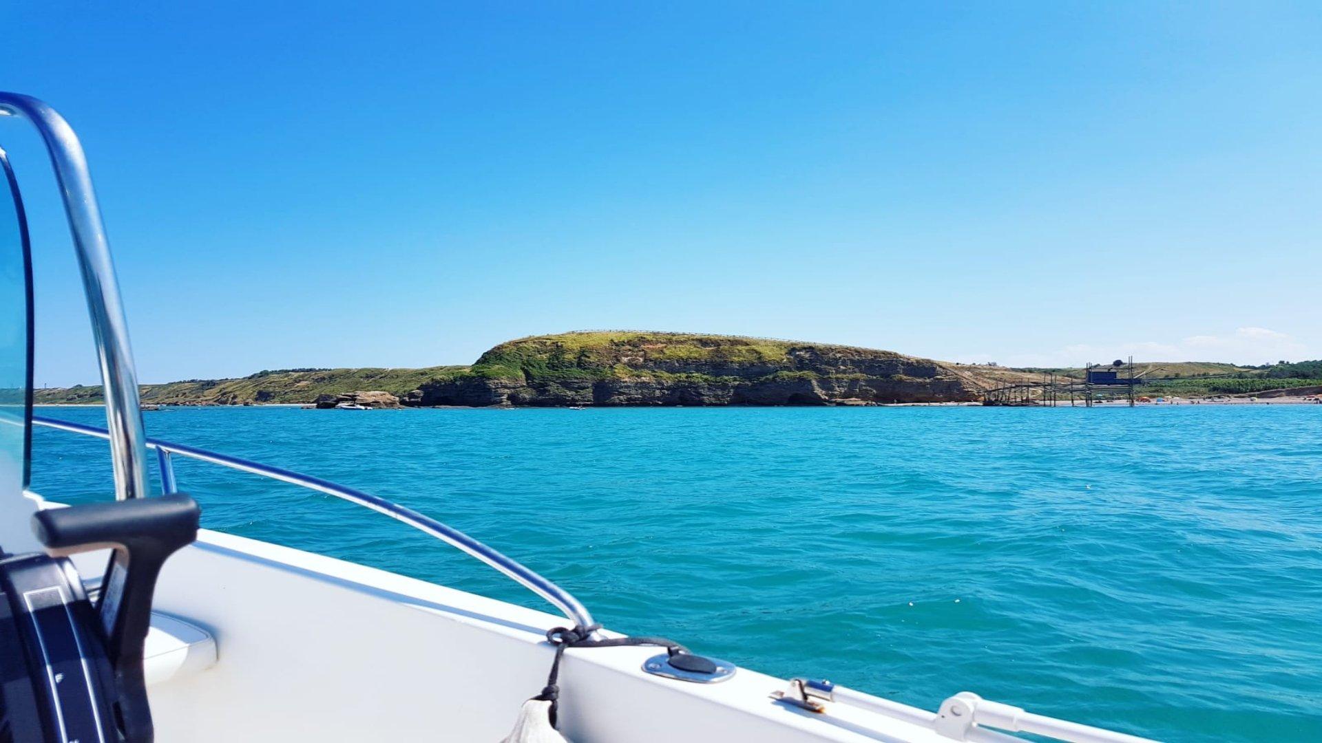 escursione barca abruzzo